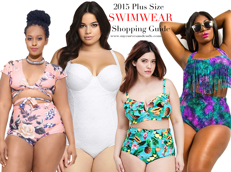 summer 2017 plus size swimwear shopping guide - my curves and curls