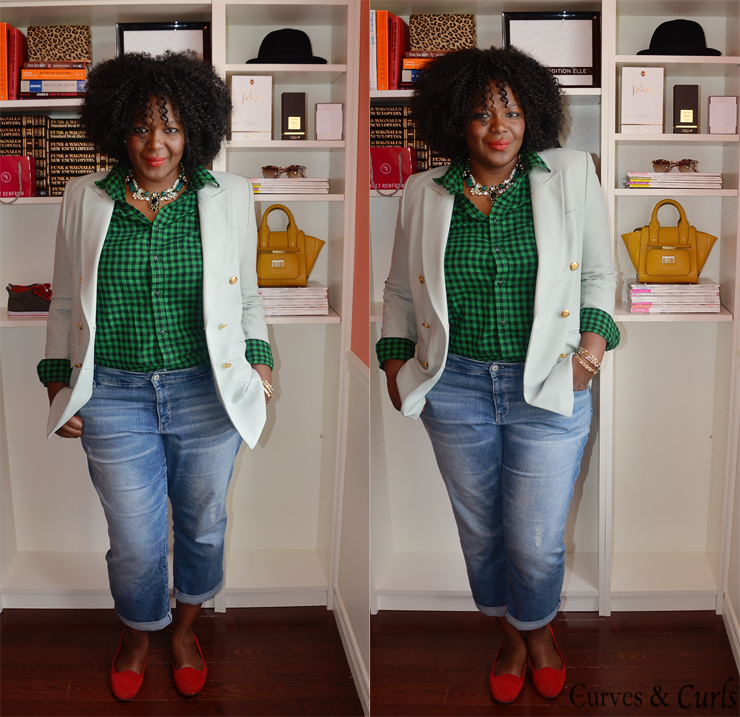 30x30 outfits challenge: Week 3 - My Curves And Curls