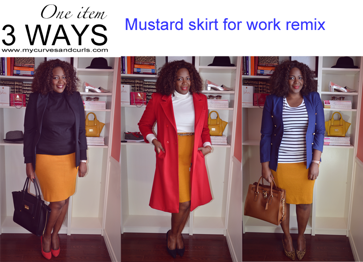 closet remix one mustard skirt 3 ways my and curls