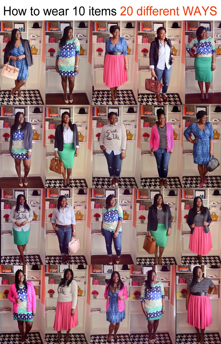 5543a3aa213 Closet Remix  How to wear 10 pieces 20 different ways
