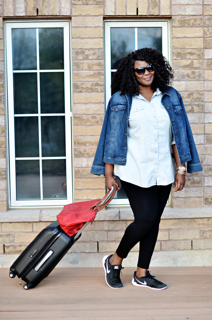 Traveling in Comfort and Style What to wear to the airport - My Curves And Curls