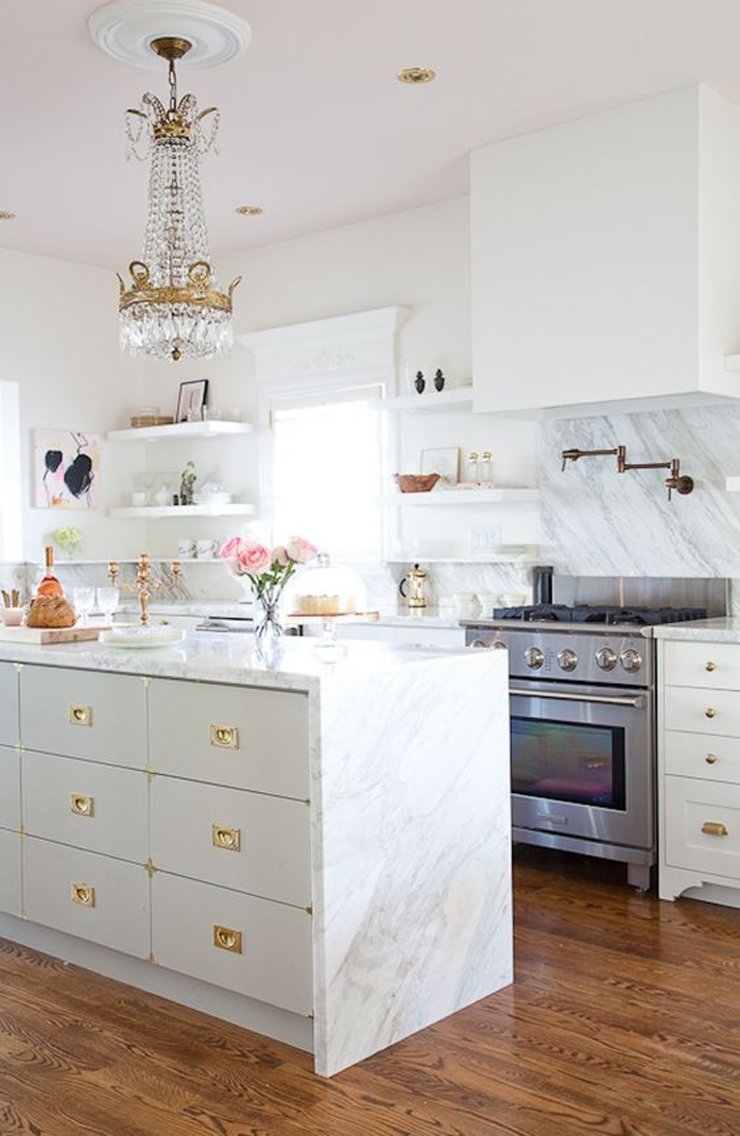 Beautiful white kitchen designs and ideas