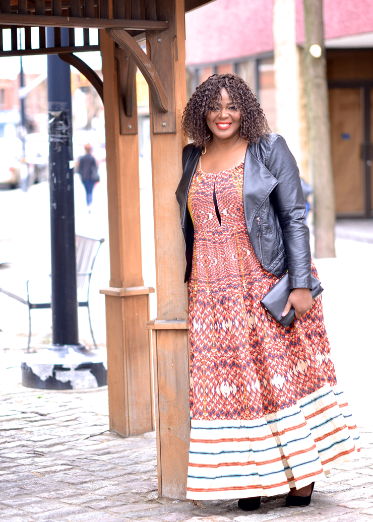 Extra Long Maxi Dresses- Assa Cisse canadian lifestyle blogger