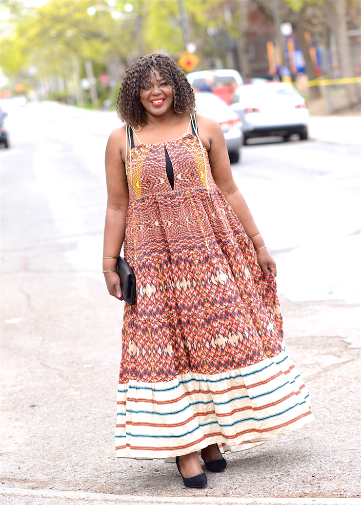 Extra Long Maxi Dresses plussize-fashion-toronto-blogger