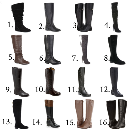 e9768de9437f8 32 best Wide Calf Boots for Every Budget. | My Curves And Curls