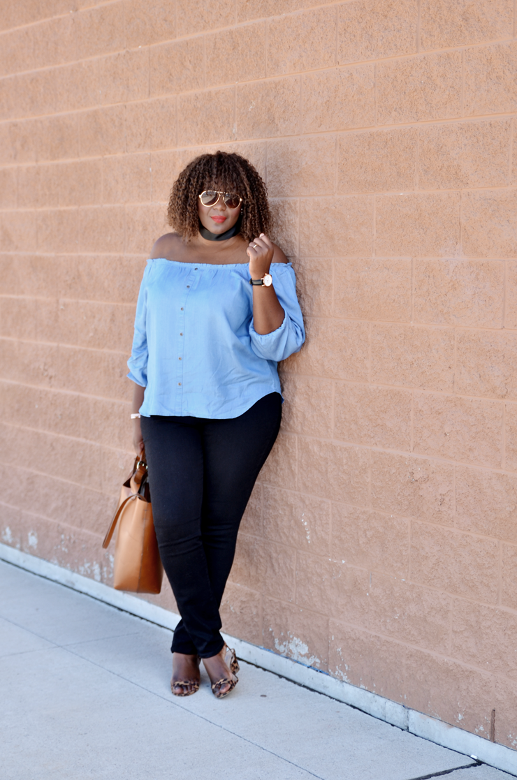 Denim-off-the-shoulder-top-soho-jeans-mycurvesandcurls