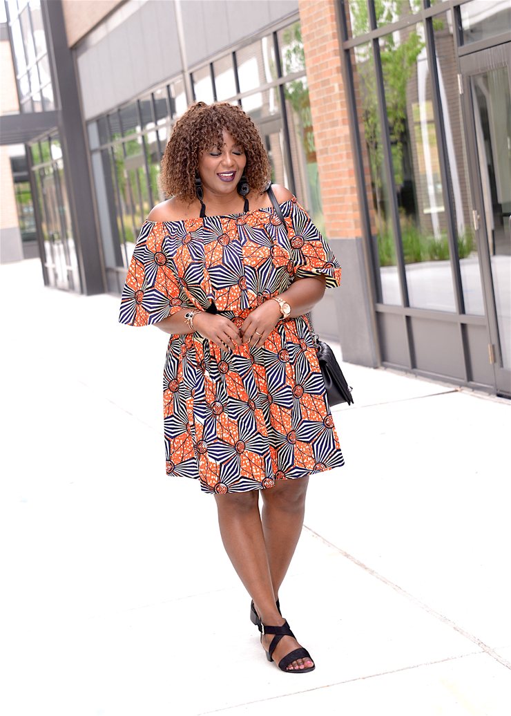 Plus Size African print clothing Mycurves-and-curls-Assa Cisse
