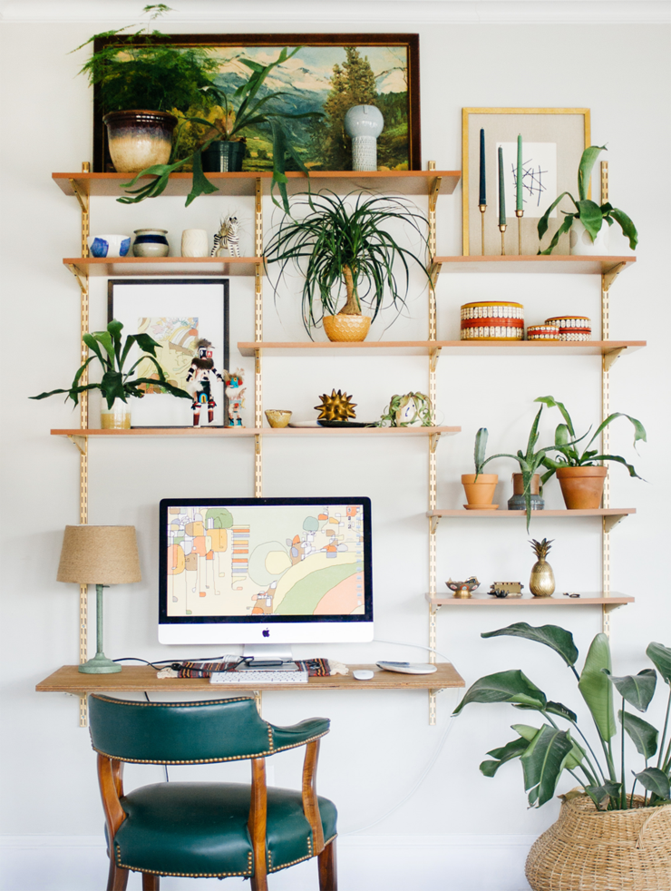 Pleasing 11 Creative And Simple Home Workspace Ideas My Curves And Curls Largest Home Design Picture Inspirations Pitcheantrous