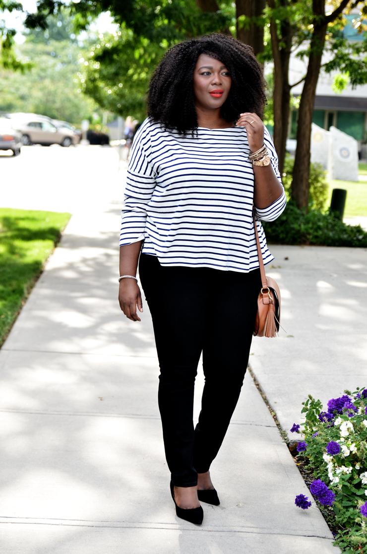 Plus size Fall look idea by Fashion blogger Assa Cisse