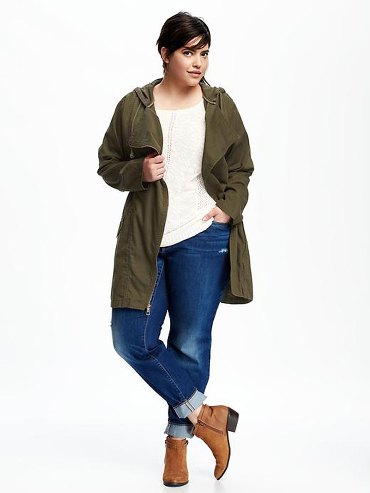 plus size utility-jacket-Fall must have