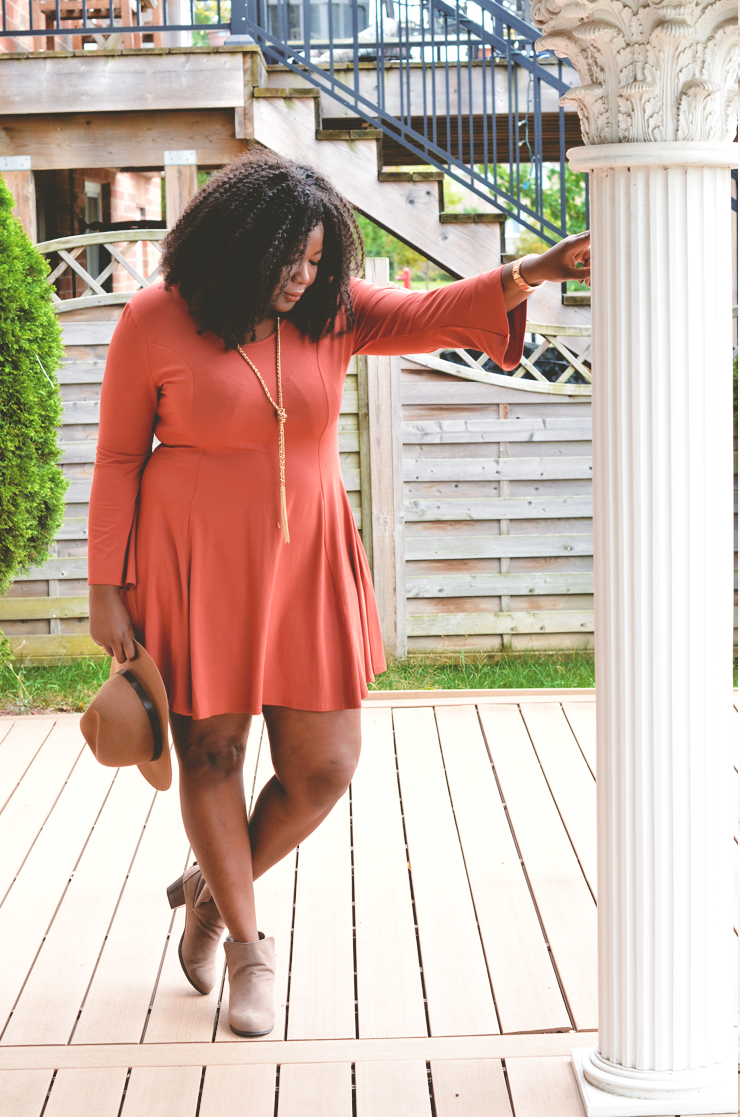 boho-dress-bell sleeve -mycurvesandcurls