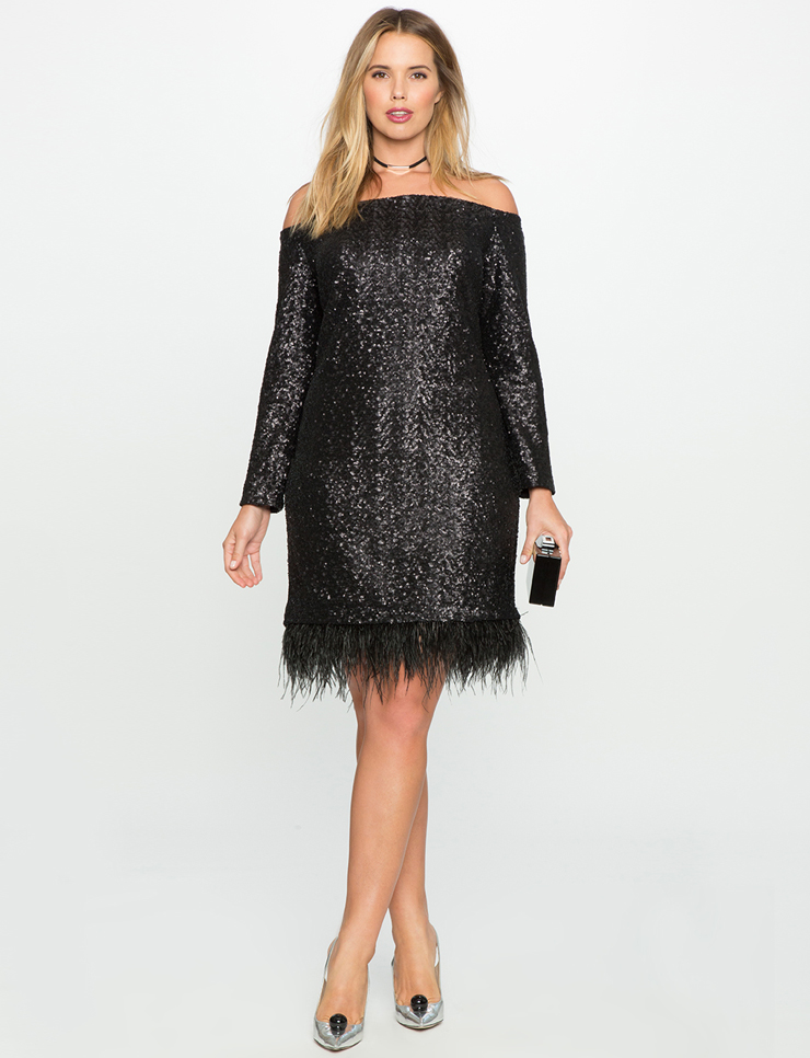 plus-size sequins dresses for the -holidays-christmas- new years eve - Plus Size Holiday Party Desses My Curves And Curls