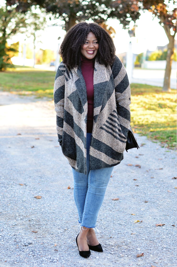 Diy raw hem denim -Assa -cisse -mycurvesandcurls.com