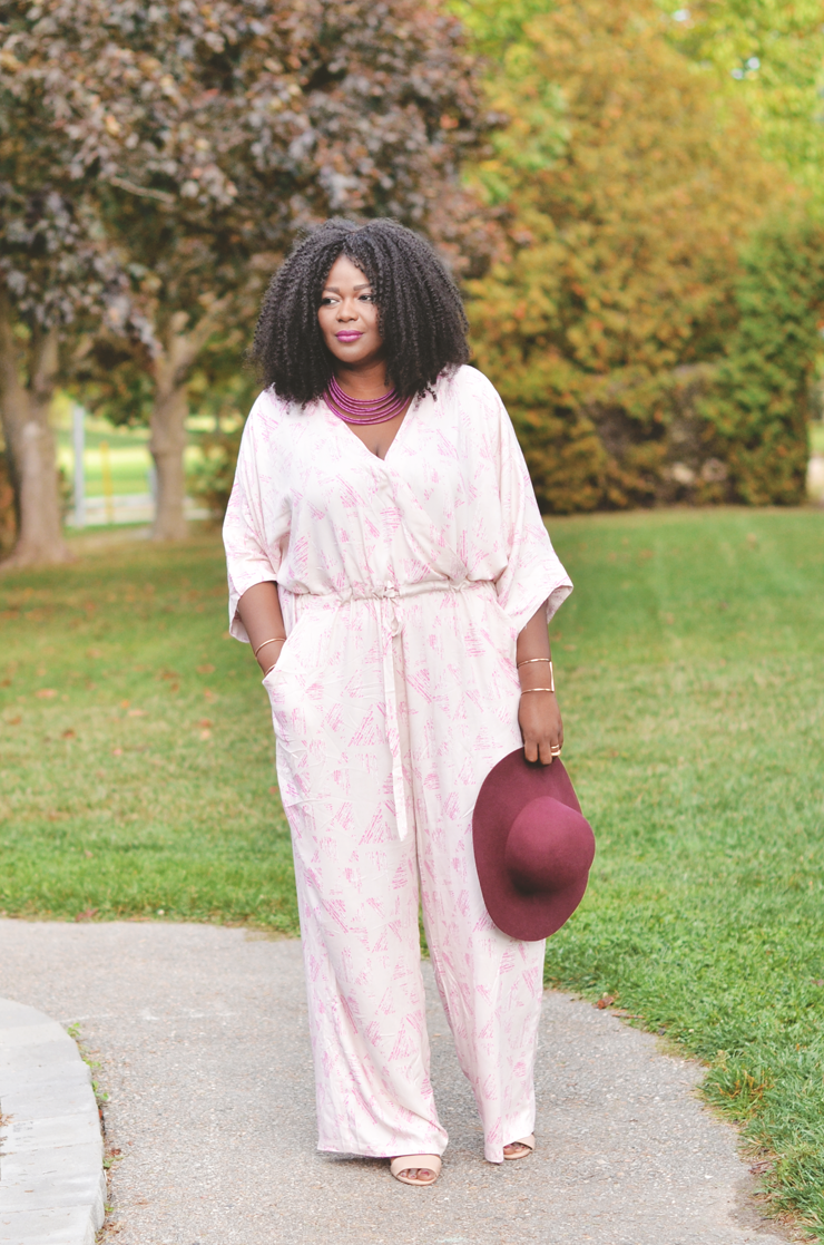 Fall Wedding Guest Jumpsuit My Curves And Curls