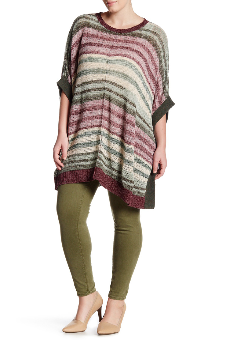 Plus Size Long Sweaters with leggings
