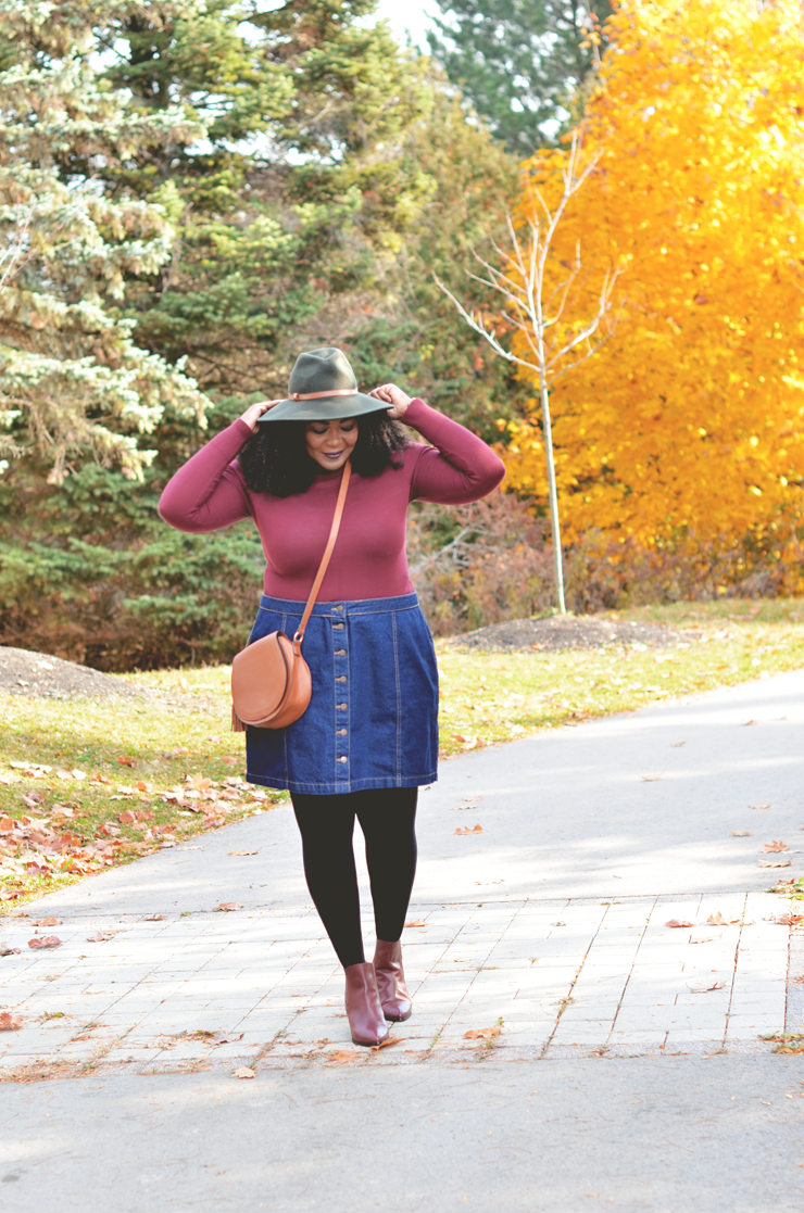 denim-skirt-turtleneck-fashion-blogger-plus-fall-outfit-ideas