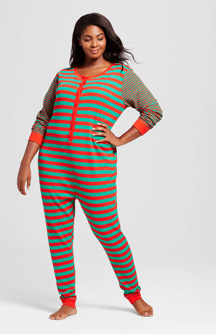 10 cute plus size pajama sets perfect for the holidays