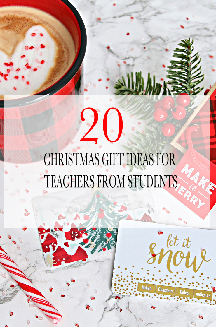 20 Christmas Gift Ideas For Teachers From Students