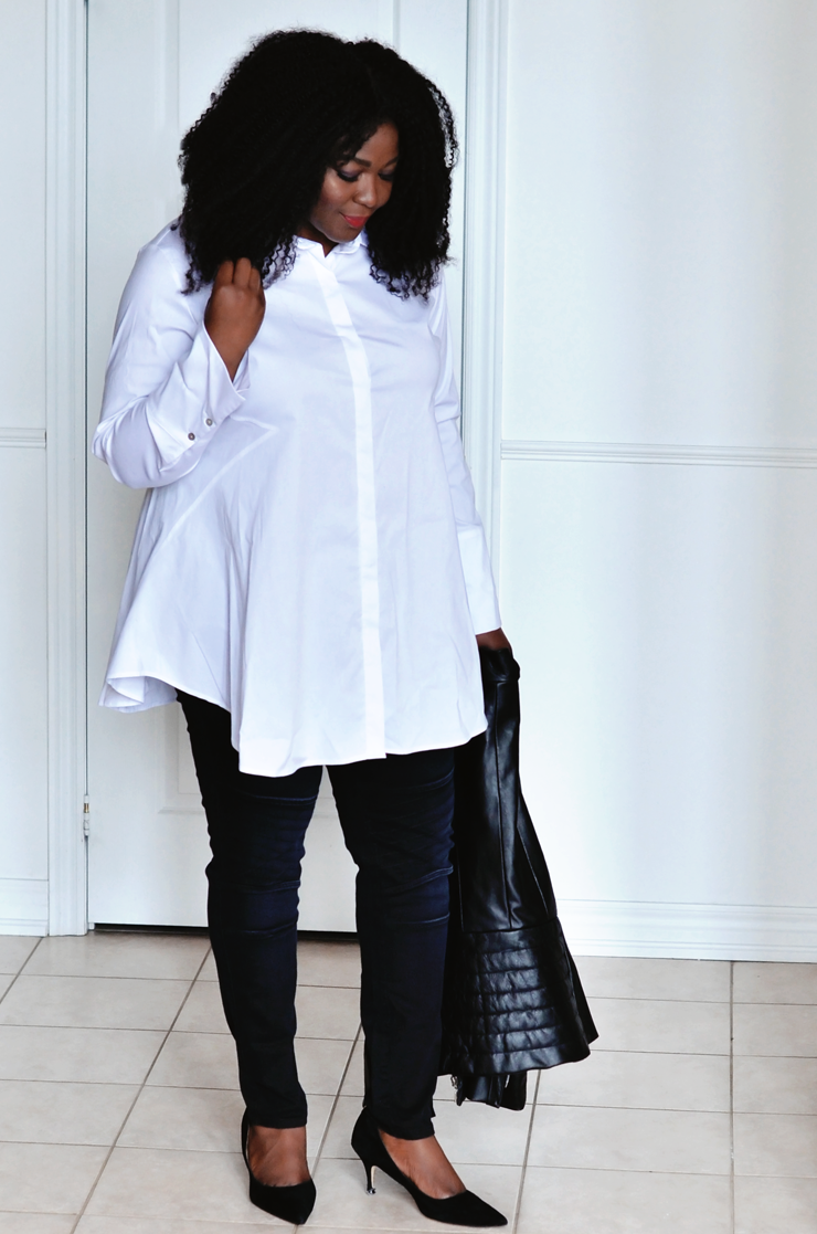 Assa Cisse- Canadian lifestyle influencer- mycurvesandcurls.com- How to build a minimalist wardrobe