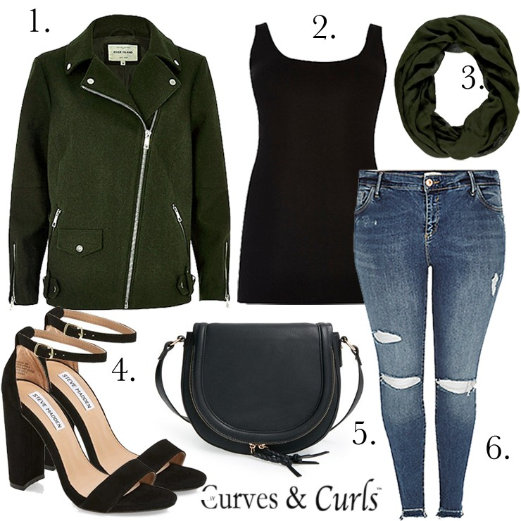 f76eb17c2cce0 Jacket+ tank + distressed Jeans ( Concert Date night)