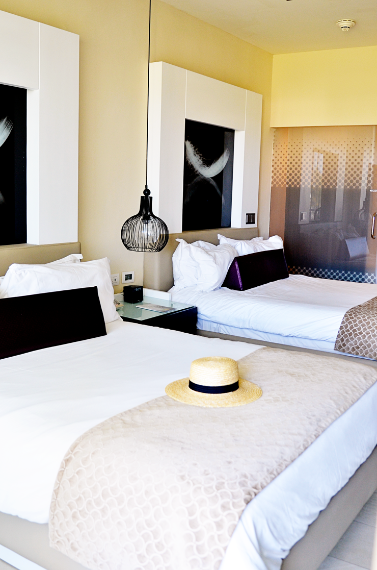 Chic Punta Cana Junior Suite in the dominican republic- see more on mycurvesandcurls.com