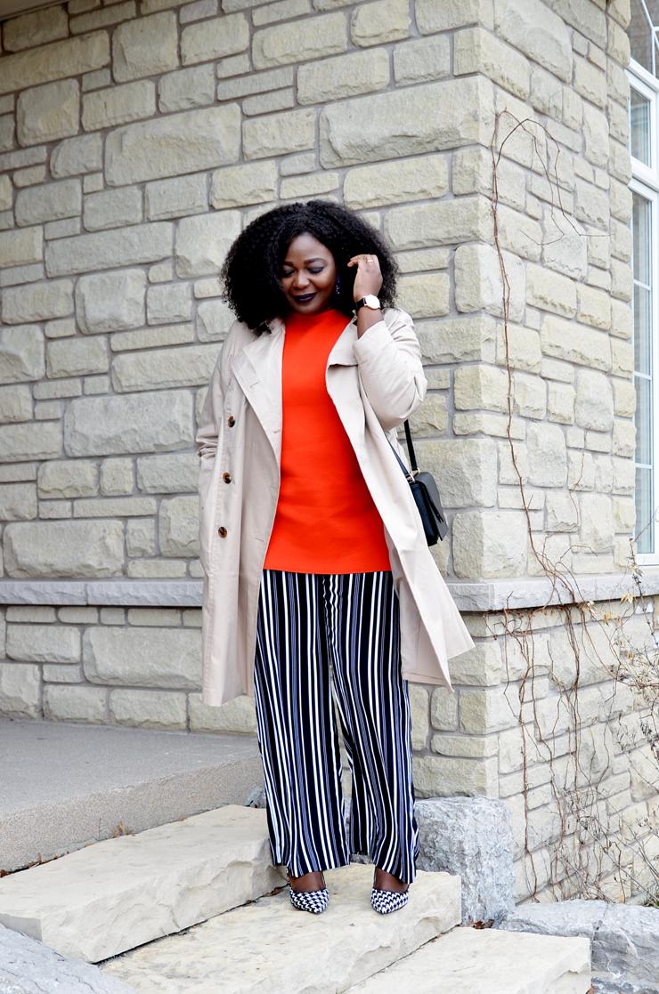 Eloquii trench coat. A spring wardrobe staple- Assa cisse mycurvesandcurls.com