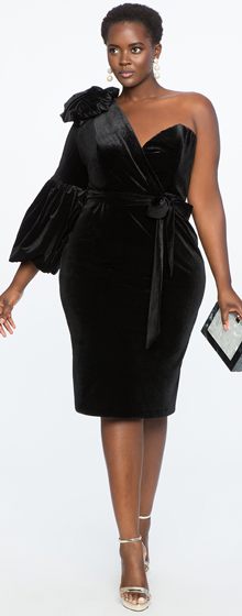 PLUS SIZE PARTY DRESSES!