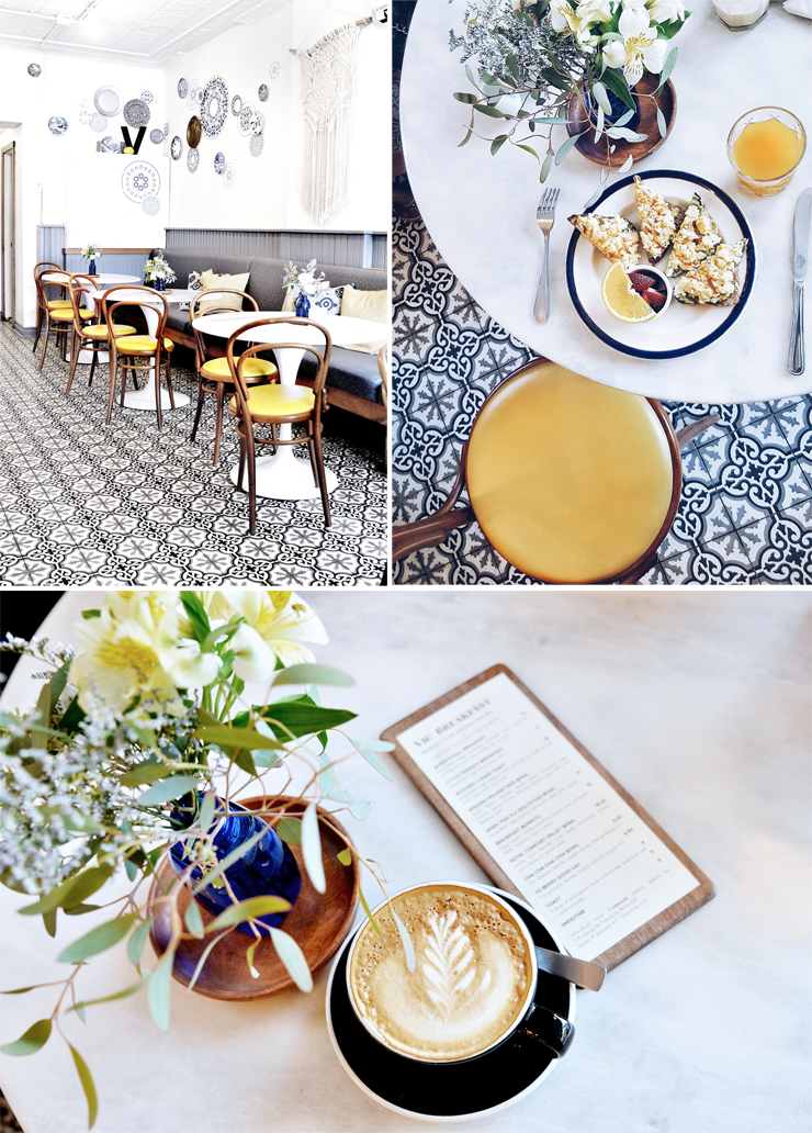 Where to eat in Prince Edward County- the Vic Cafe
