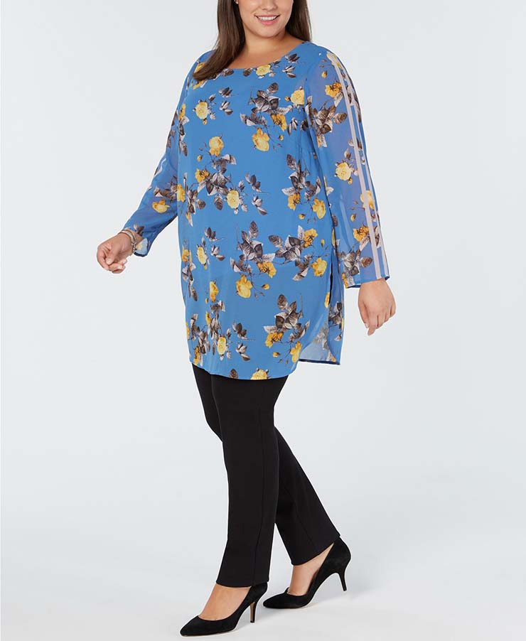 10 Plus Size Tunic Dresses To Wear With Leggings | My Curves ...